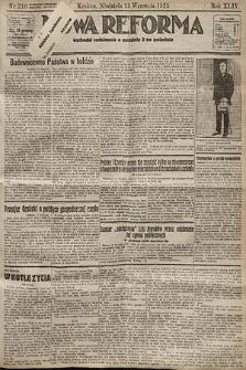 Nowa Reforma. 1925, nr210