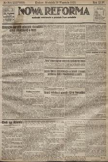 Nowa Reforma. 1925, nr216
