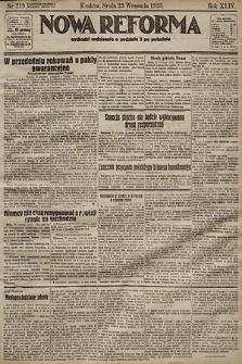 Nowa Reforma. 1925, nr219