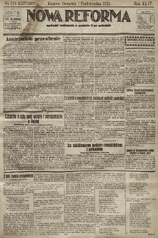 Nowa Reforma. 1925, nr225
