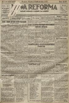 Nowa Reforma. 1925, nr226
