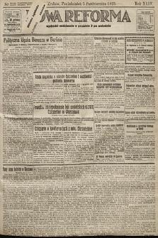 Nowa Reforma. 1925, nr229