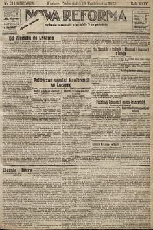 Nowa Reforma. 1925, nr241