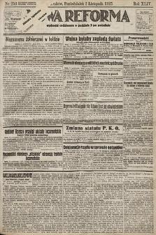Nowa Reforma. 1925, nr253