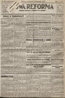 Nowa Reforma. 1925, nr255