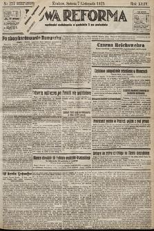 Nowa Reforma. 1925, nr257
