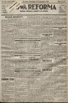 Nowa Reforma. 1925, nr261