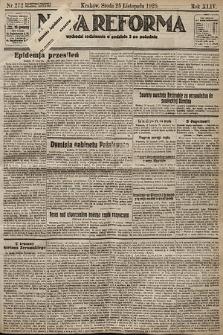 Nowa Reforma. 1925, nr272
