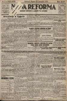Nowa Reforma. 1925, nr274