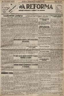 Nowa Reforma. 1925, nr279