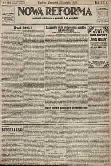 Nowa Reforma. 1925, nr280