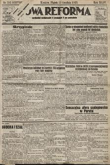 Nowa Reforma. 1925, nr285