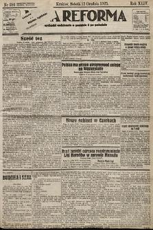 Nowa Reforma. 1925, nr286