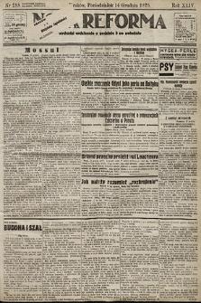 Nowa Reforma. 1925, nr288