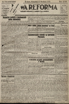 Nowa Reforma. 1925, nr290