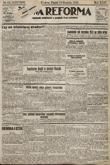 Nowa Reforma. 1925, nr291