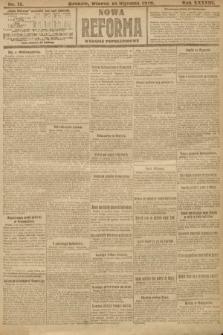 Nowa Reforma (wydanie popołudniowe). 1919, nr11