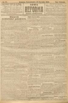 Nowa Reforma (wydanie popołudniowe). 1919, nr21