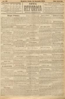 Nowa Reforma (wydanie popołudniowe). 1919, nr25