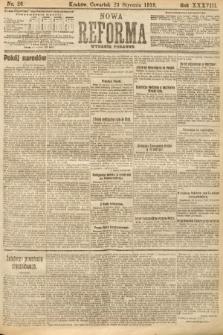 Nowa Reforma (wydanie poranne). 1919, nr26