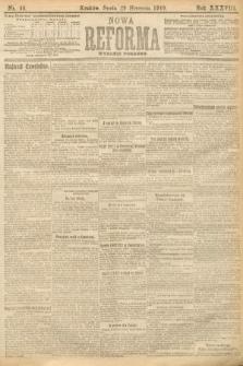 Nowa Reforma (wydanie poranne). 1919, nr36
