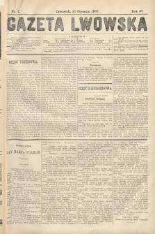Gazeta Lwowska. 1907, nr7