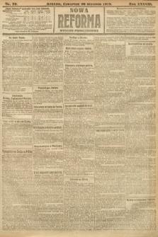 Nowa Reforma (wydanie popołudniowe). 1919, nr39