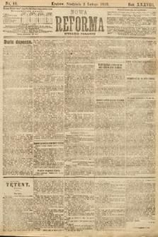 Nowa Reforma (wydanie poranne). 1919, nr44