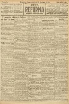 Nowa Reforma (wydanie popołudniowe). 1919, nr57