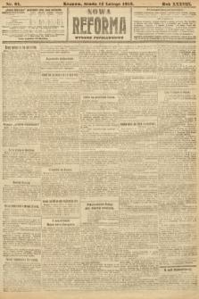 Nowa Reforma (wydanie popołudniowe). 1919, nr61