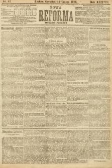 Nowa Reforma (wydanie poranne). 1919, nr62