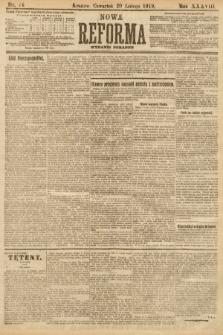 Nowa Reforma (wydanie poranne). 1919, nr74