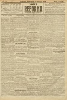 Nowa Reforma (wydanie popołudniowe). 1919, nr75