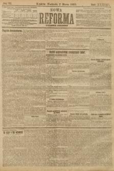 Nowa Reforma (wydanie poranne). 1919, nr92