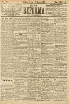 Nowa Reforma (wydanie poranne). 1919, nr108