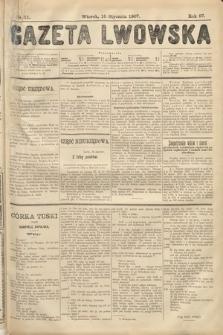 Gazeta Lwowska. 1907, nr11