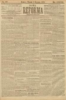 Nowa Reforma (wydanie poranne). 1919, nr140