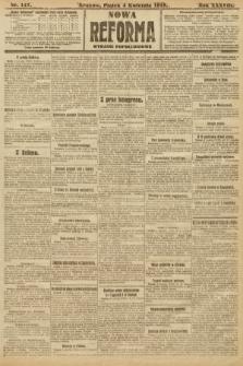 Nowa Reforma (wydanie popołudniowe). 1919, nr147