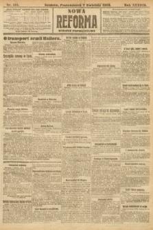 Nowa Reforma (wydanie popołudniowe). 1919, nr151