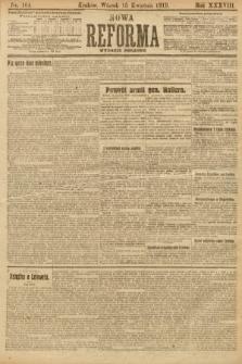 Nowa Reforma (wydanie poranne). 1919, nr164