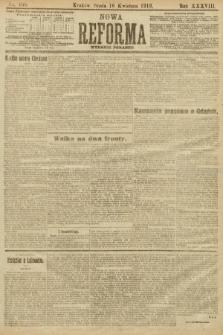 Nowa Reforma (wydanie poranne). 1919, nr166