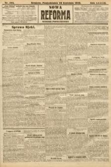 Nowa Reforma (wydanie popołudniowe). 1919, nr184