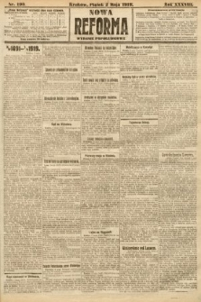 Nowa Reforma (wydanie popołudniowe). 1919, nr190
