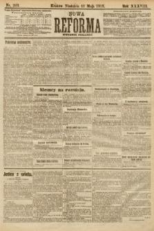 Nowa Reforma (wydanie poranne). 1919, nr203