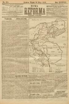 Nowa Reforma (wydanie poranne). 1919, nr211