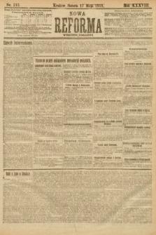 Nowa Reforma (wydanie poranne). 1919, nr213