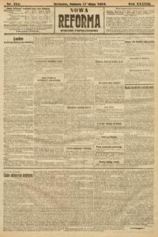 Nowa Reforma (wydanie popołudniowe). 1919, nr214