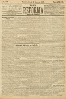 Nowa Reforma (wydanie popołudniowe). 1919, nr241