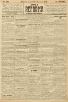 Nowa Reforma (wydanie popołudniowe). 1919, nr244