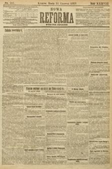 Nowa Reforma (wydanie poranne). 1919, nr251